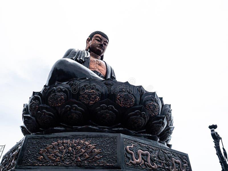 Vietnã Sapa Fansipan budda estátua fotos de stock royalty free