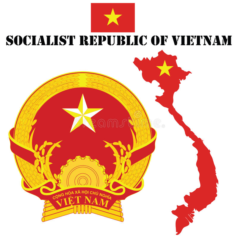 Vietnam vector illustratie