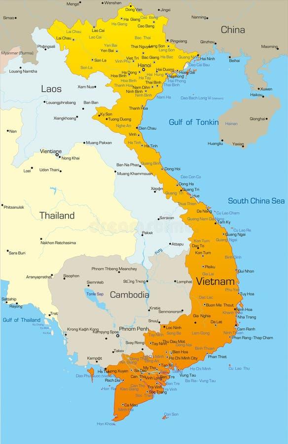 Vietnam lizenzfreie abbildung