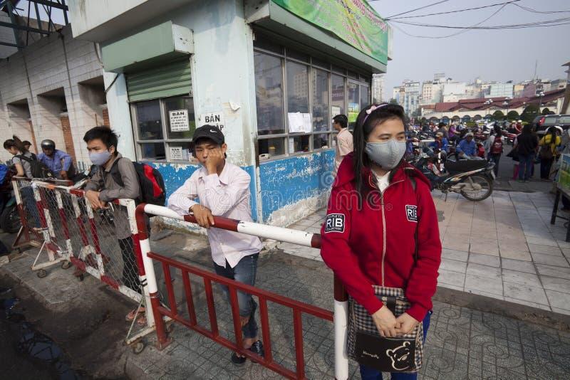 Vietnam - air pollution stock photography