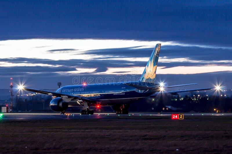 Vietnam Airlines fotos de stock