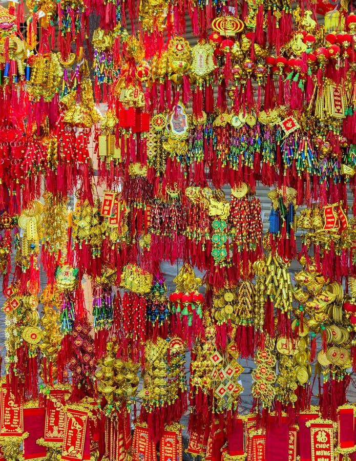 Vietnam amulett för kinesiskt nytt år royaltyfri foto