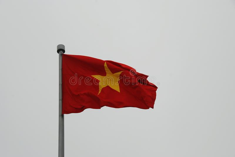 Vietnam bandery zdjęcie stock