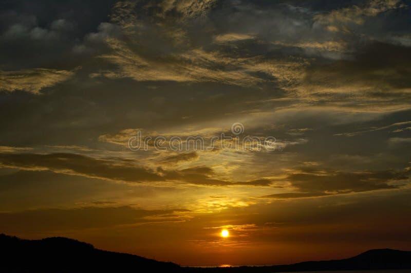 Vietnam. Beach. sunrise royalty free stock image