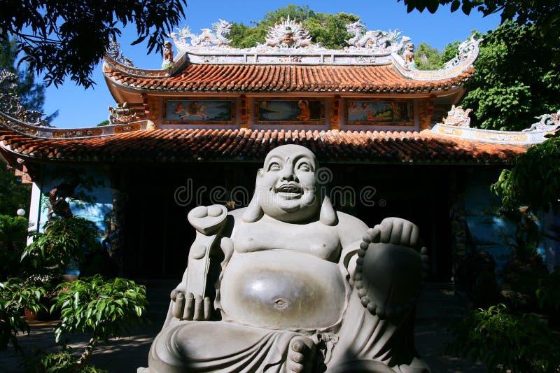 Vietnam-buddhistischer Tempel stockfotos
