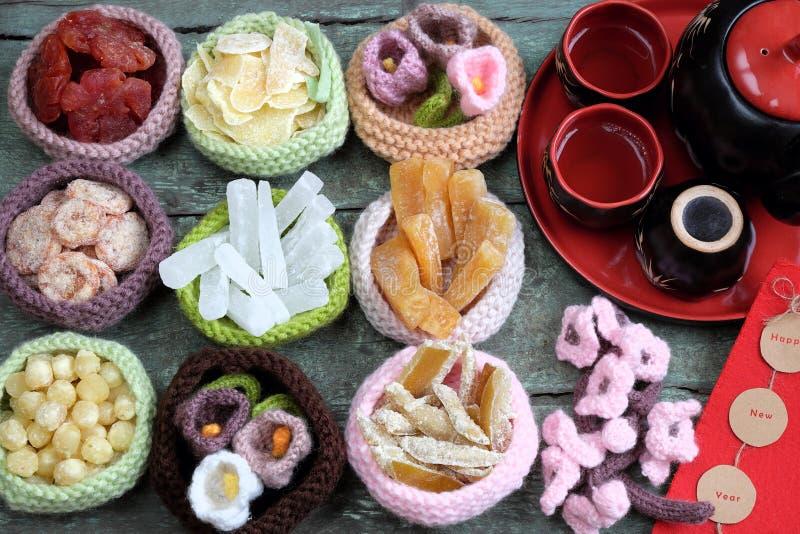 Vietnam culture, Vietnamese food, Tet, lunar new year royalty free stock photography