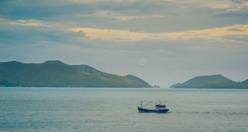Vietnam, die Stadt von Nyachang - 17. Juni 2013: stockfoto