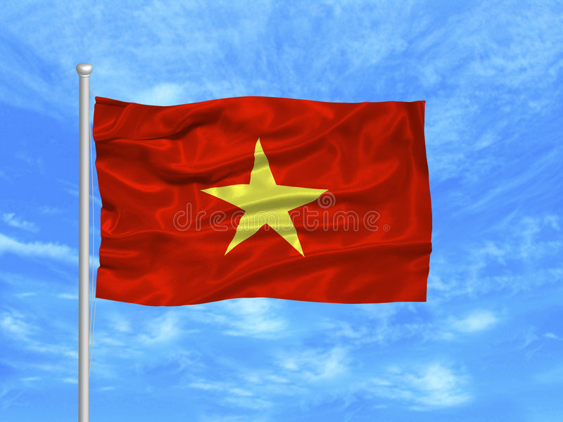 Download Vietnam Flag 1 stock illustration. Illustration of freedom - 4978378