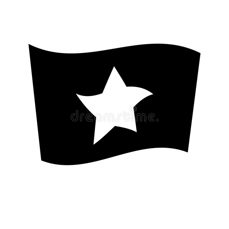 Vietnam flag icon. Trendy Vietnam flag logo concept on white background from Country Flags collection royalty free illustration