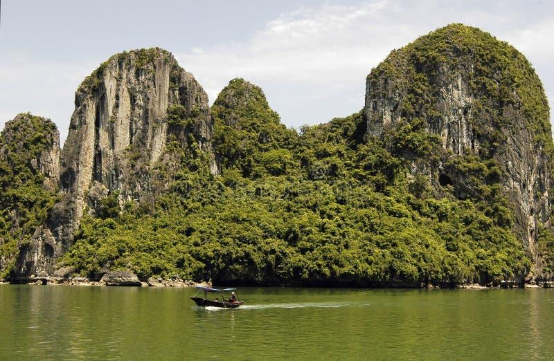 Vietnam: Halong bay royalty free stock photography