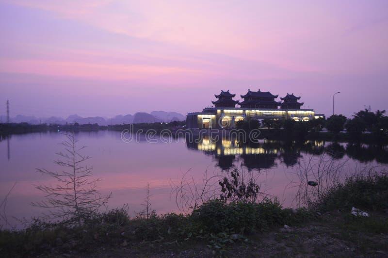 Vietnam-Haus stockbilder