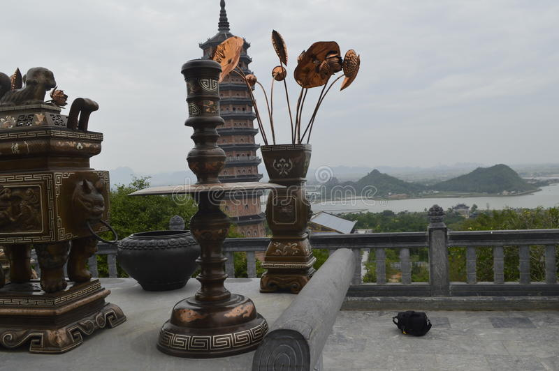 Vietnam helgedompagod royaltyfri foto
