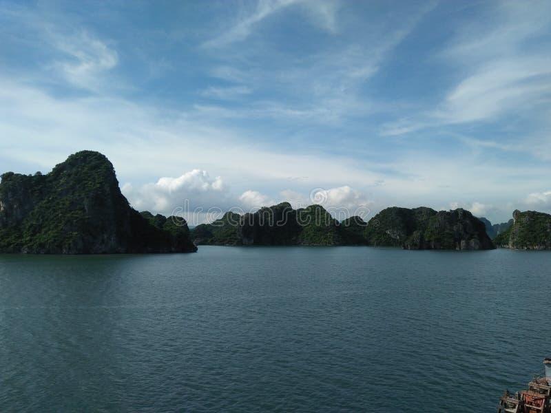 Vietnam hill sky royalty free stock image