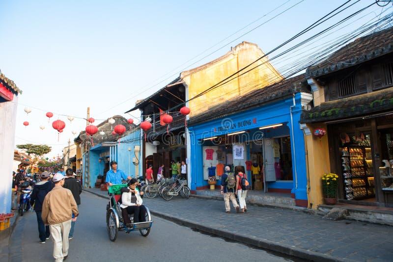 Vietnam, Hoi An Ancient Town royalty-vrije stock afbeeldingen