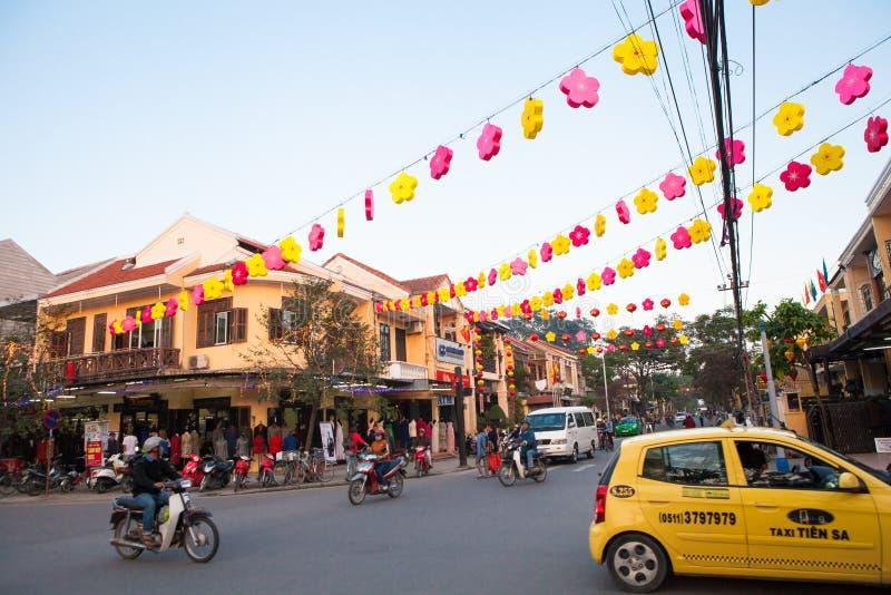 Vietnam, Hoi An Ancient Town stockbilder
