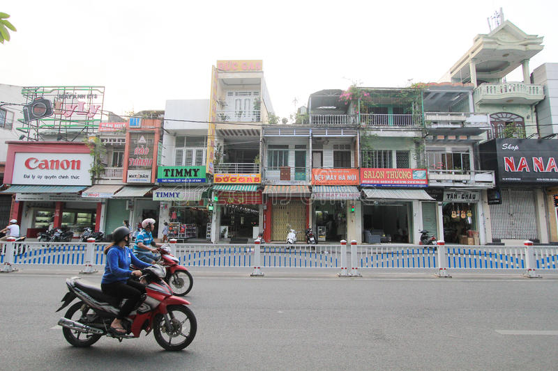 Vietnam Hue street view stock images