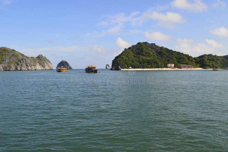Vietnam-Insel stockfotografie