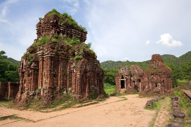 Download Vietnam Khmer temple ruins stock photo. Image of destination - 17483566