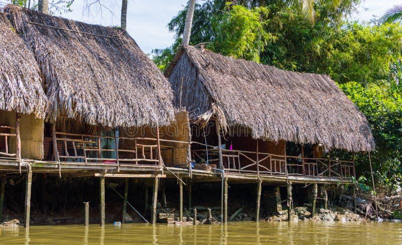 Vietnam Mekong delta rzeki zdjęcia stock