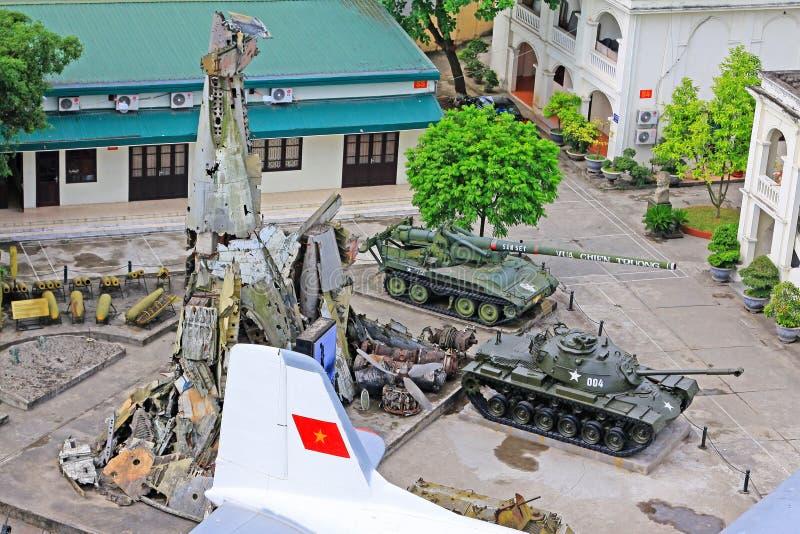Vietnam Military History Museum, Hanoi Vietnam royalty free stock photo