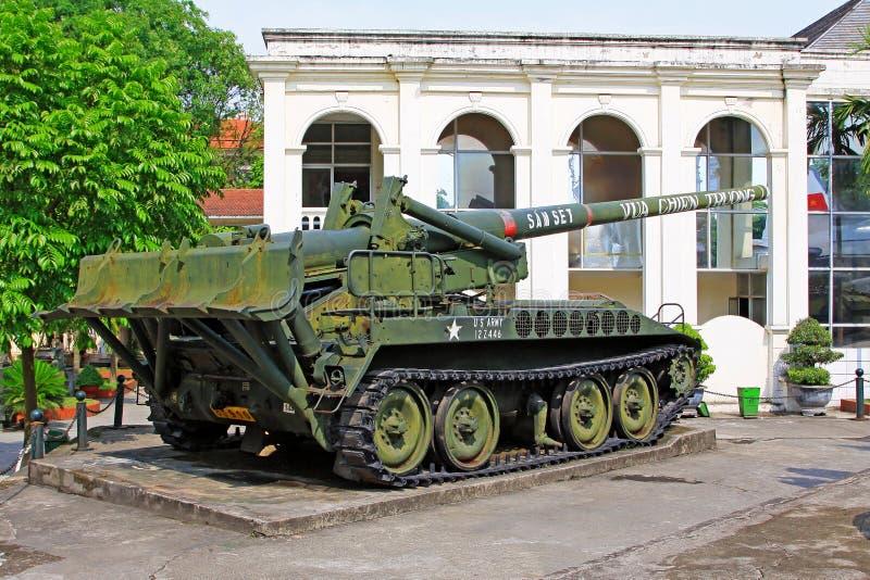 Vietnam Military History Museum, Hanoi Vietnam stock images