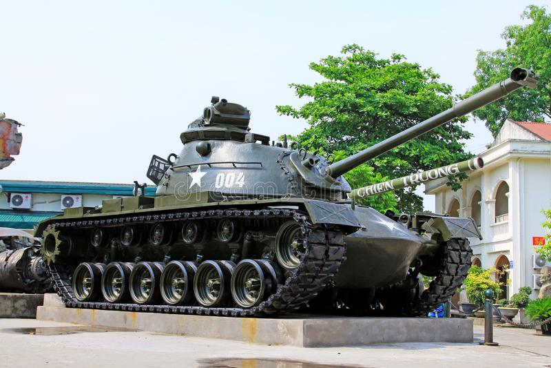 Vietnam Military History Museum, Hanoi Vietnam stock photography