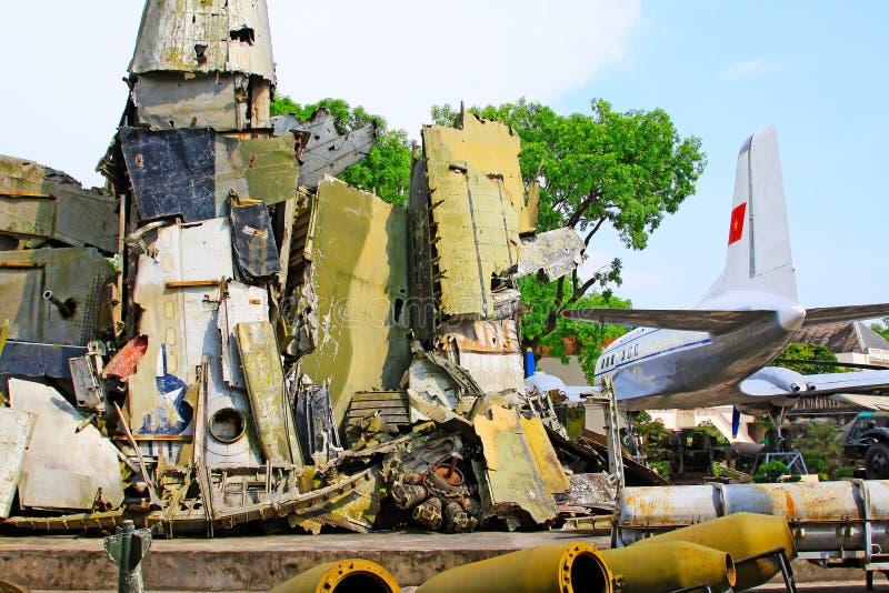 Vietnam Military History Museum, Hanoi Vietnam royalty free stock photos