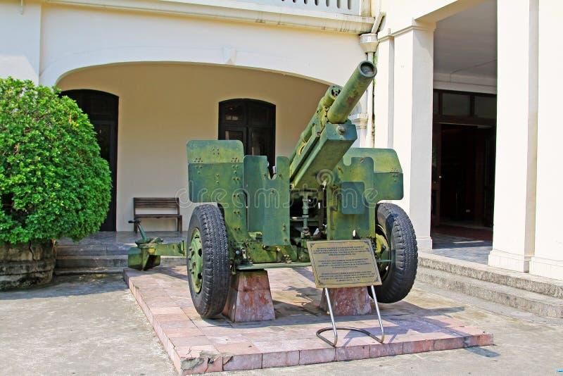 Vietnam Military History Museum, Hanoi Vietnam stock photo