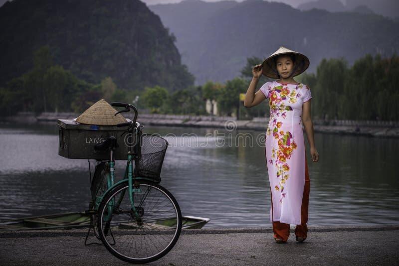 Vietnam model stock image
