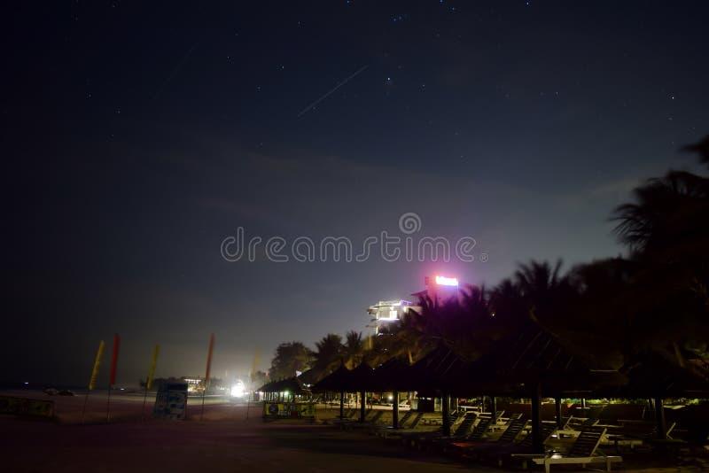Mui Ne Beach at Night royalty free stock image