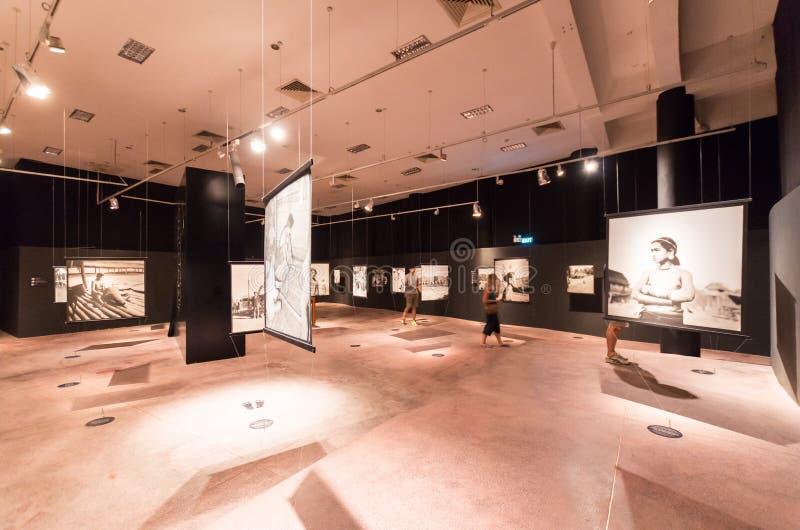Vietnam museum av etnologi i Hanoi royaltyfri fotografi