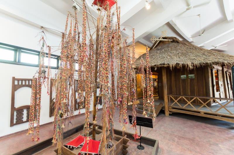 Vietnam museum av etnologi i Hanoi royaltyfria bilder