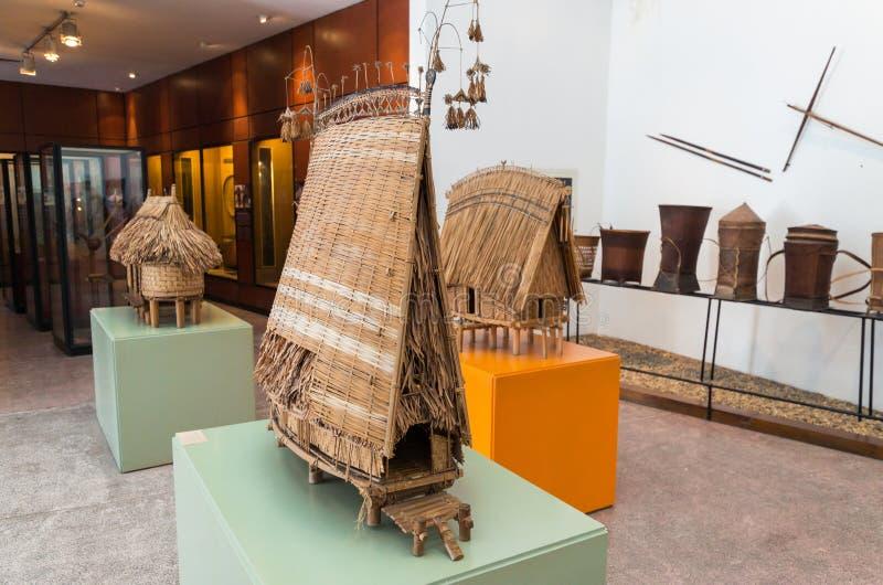 Vietnam museum av etnologi i Hanoi arkivfoto