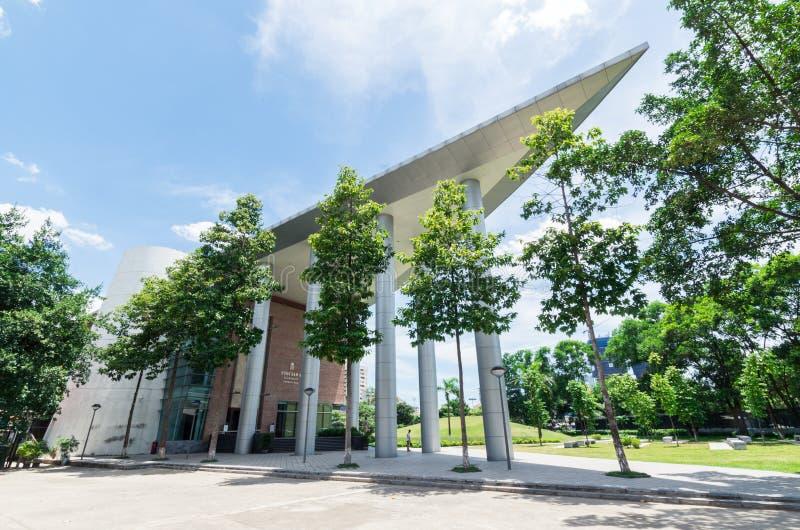 Vietnam museum av etnologi i Hanoi royaltyfri bild