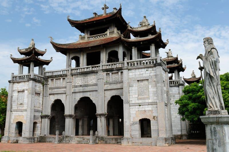 Vietnam - Phat Diem Cathedral royalty free stock photo