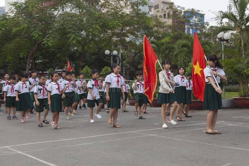 Vietnam studenter arkivbilder