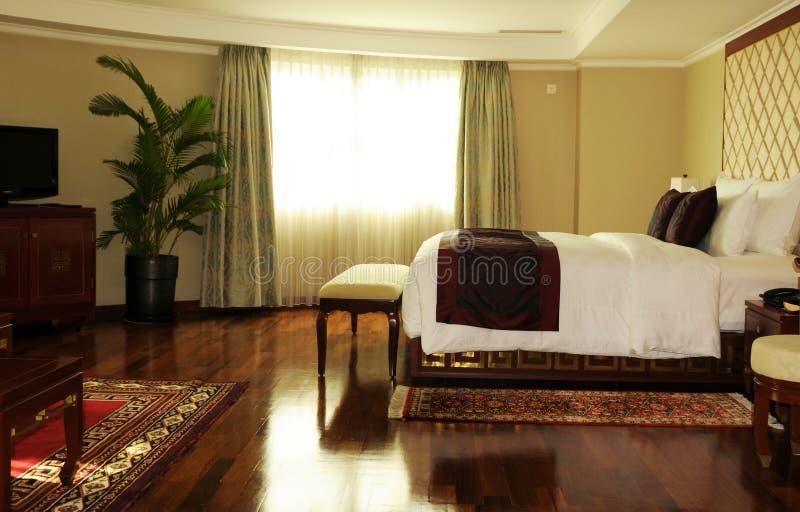 Vietnam: Stylischruimten in legendarisch Rex Hotel in ho-chi-Ming-Stad stock afbeelding