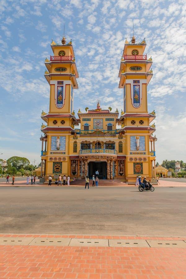 Vietnam - Tay Ninh arkivfoto