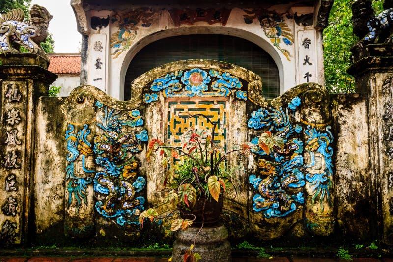 Vietnam tempel royaltyfria foton