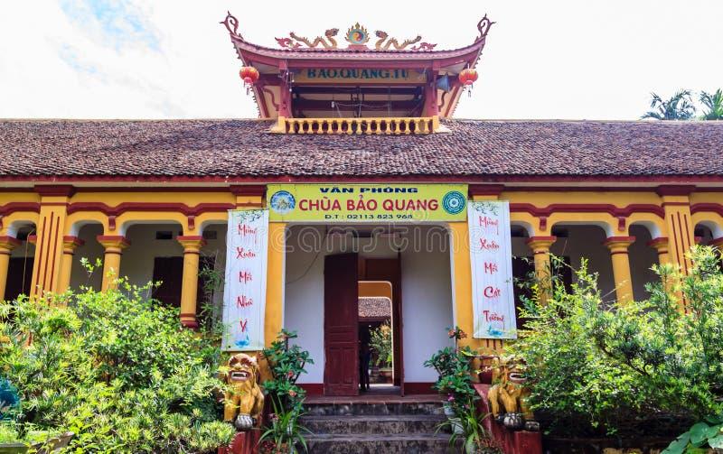Vietnam-Tempel lizenzfreie stockbilder