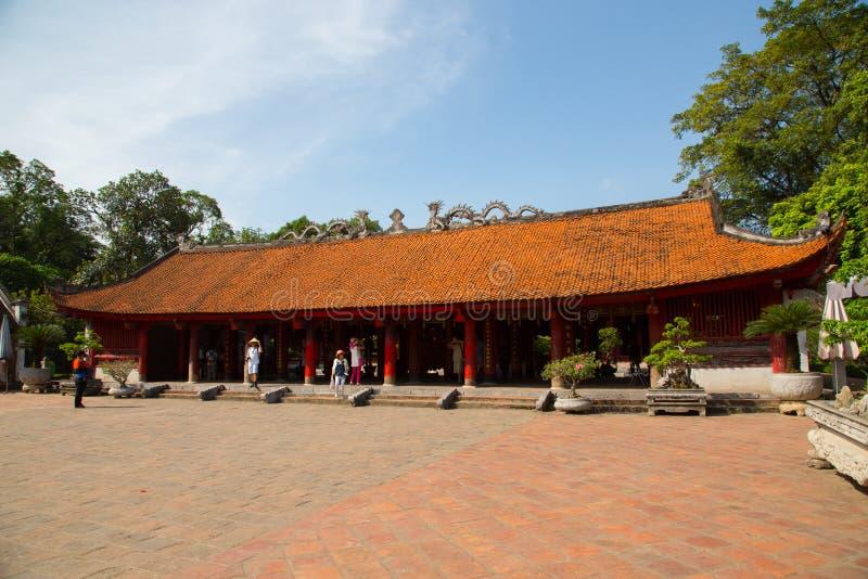 Vietnam temple. Beautiful colour temple in Vietnam royalty free stock photo