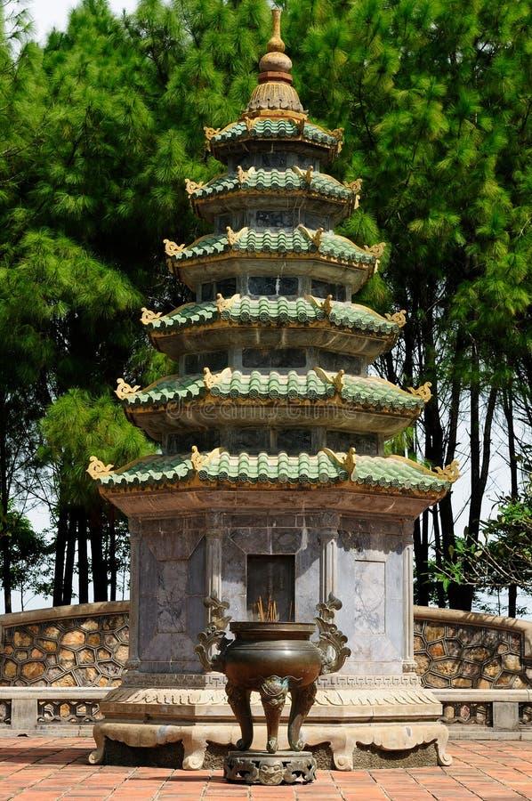 Vietnam - Thien Mu pagoda stock photography