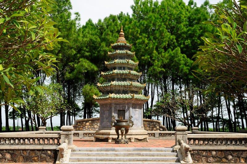 Vietnam - Thien Mu pagoda stock image