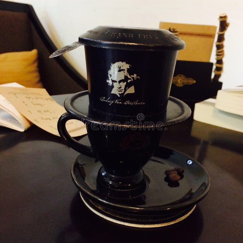 Vietnam thing Nguyen hotcoffee royalty free stock image