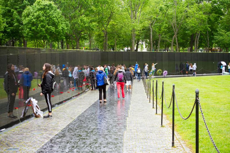 Download Vietnam Veterans Memorial In Washington DC Designed By Maya Lin  Editorial Photography   Image Of