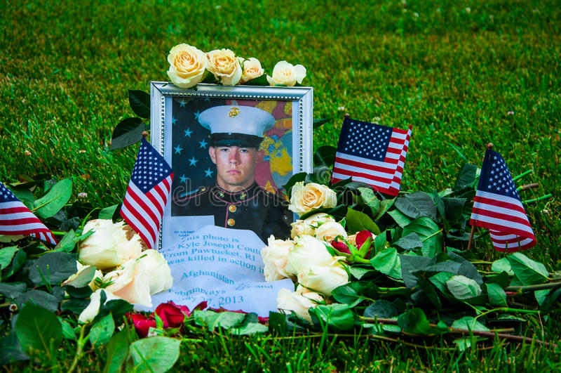 Vietnam Veterans Memorial in Washington DC, USA stock photo