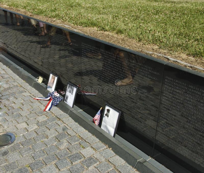 Vietnam Wall Memorial royalty free stock image
