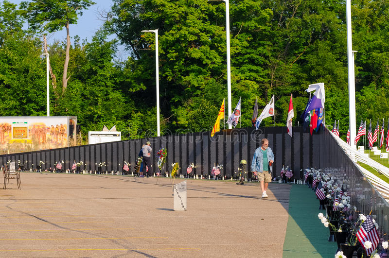 Vietnam Wall Panels Editorial Photography Image Of