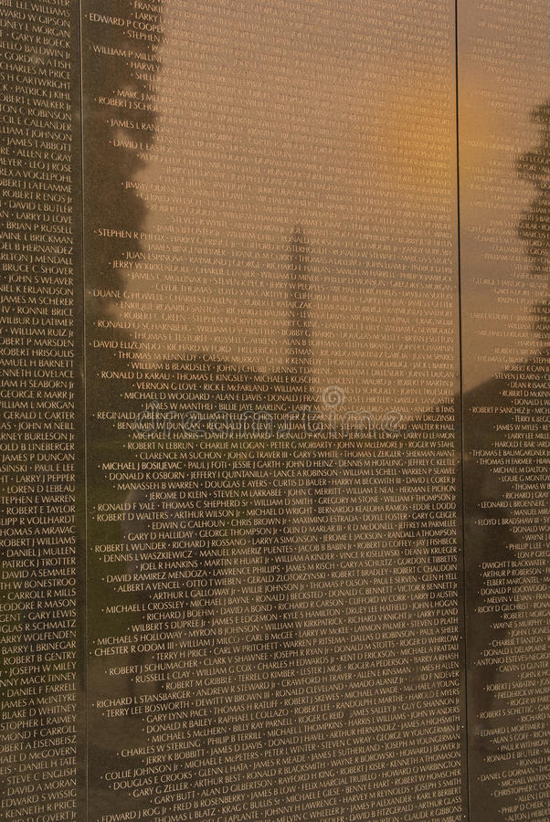 Download Vietnam War Veterans Memorial Editorial Stock Image - Image: 33745284