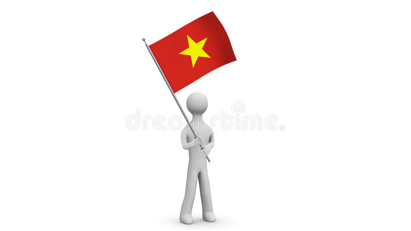 Vietnam Waving Flag 3d Man Holding And Waving Vietnamese Flag On Transparent Background Loop Alpha Channel Stock Video Video Of Nation Blowing 88347885